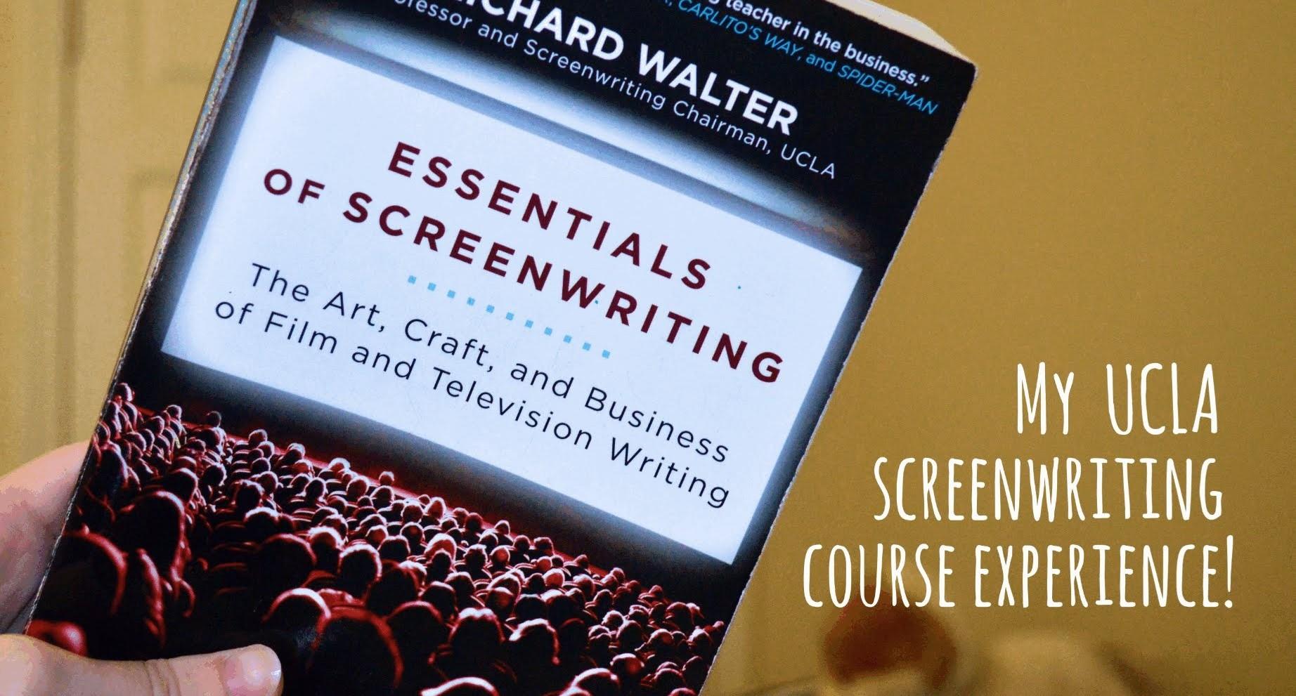 Best Screenwriting Books: ESSENTIALS OF SCREENWRITING - thescriptblog.com