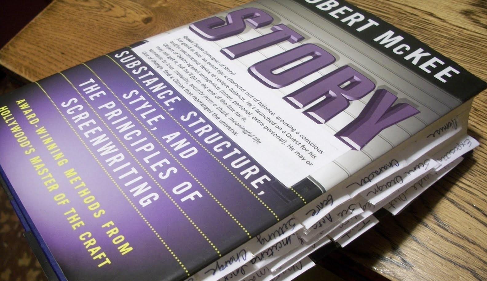 Best Screenwriting Books: McKee's STORY (1) - thescriptblog.com