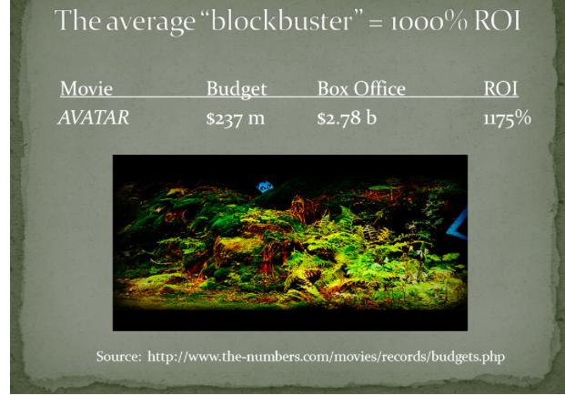 Basic Film Economics - thescriptblog.com
