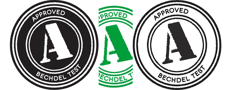 Bechdel Test Logo - thescriptblog.com