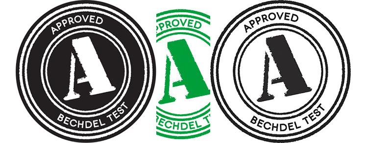 Bechdel Test Logo