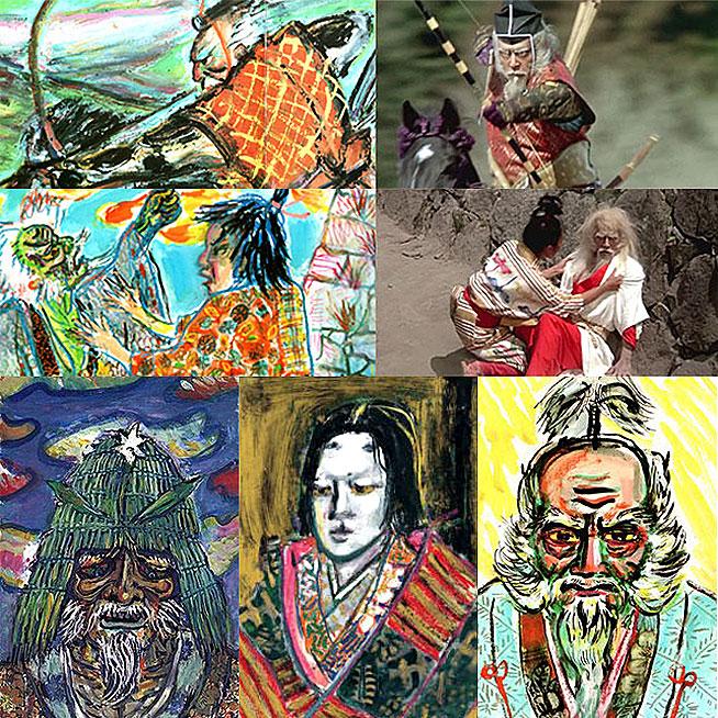 Akira Kurosawa's storyboards RAN - thescriptblog.com