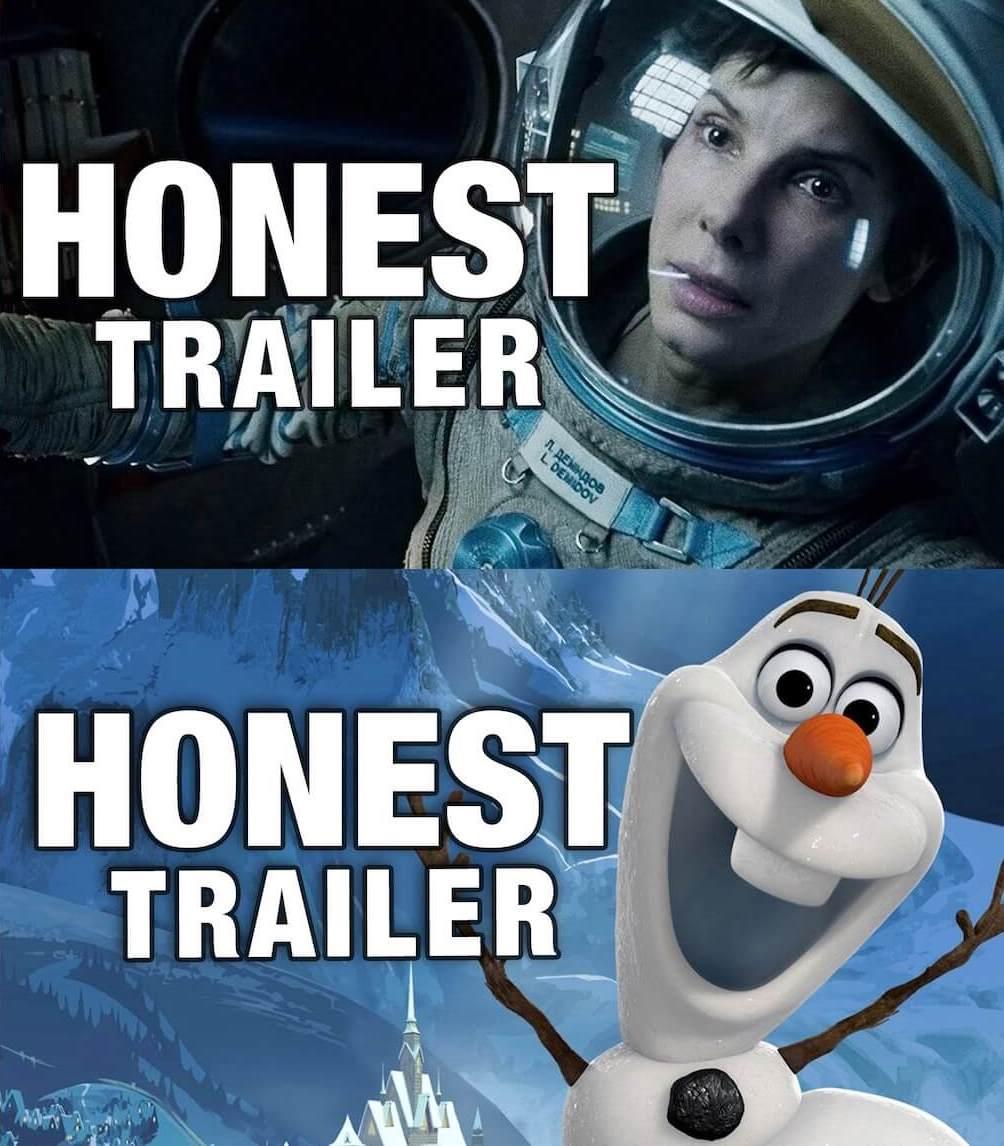 Honest Trailers - thescriptblog.com