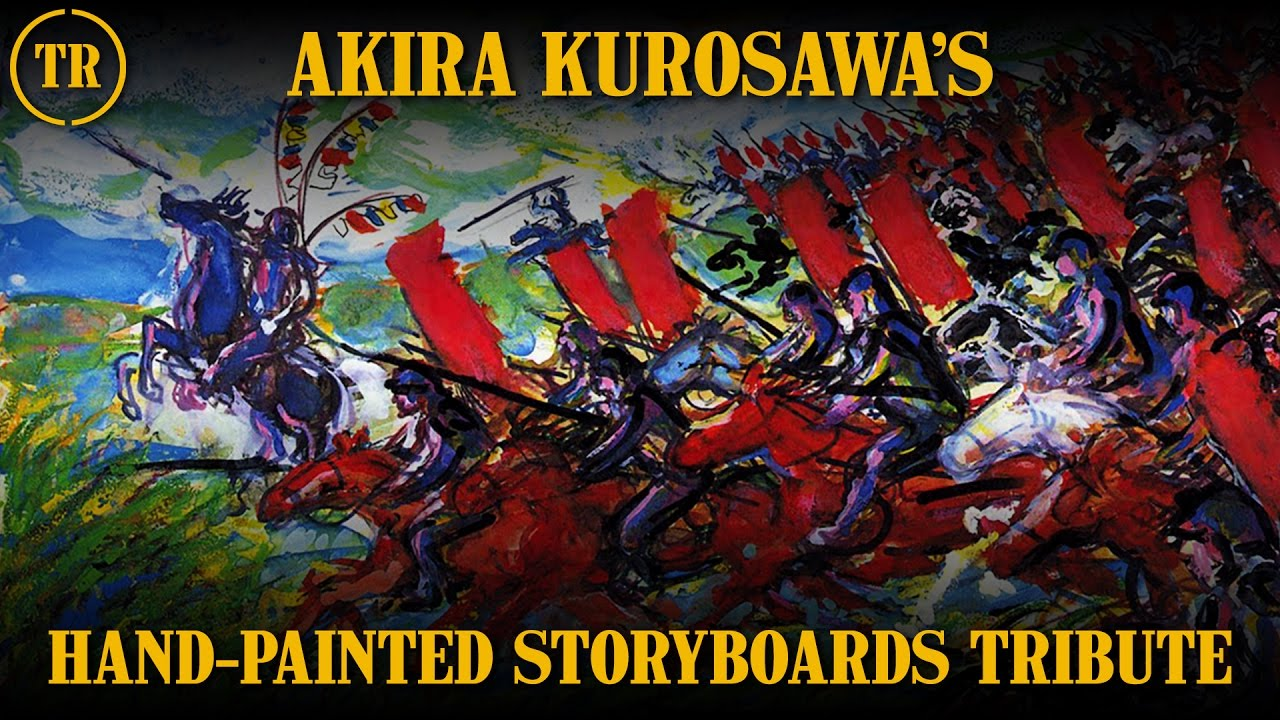 Kurosawa's storyboards - thescriptblog.com