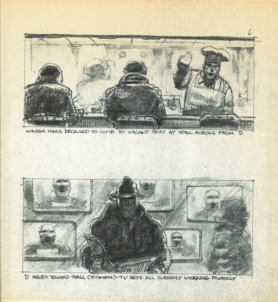 Blade Runner's storyboards