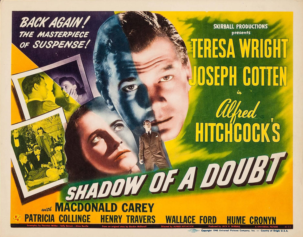the shadow of a doubt - hitchcock