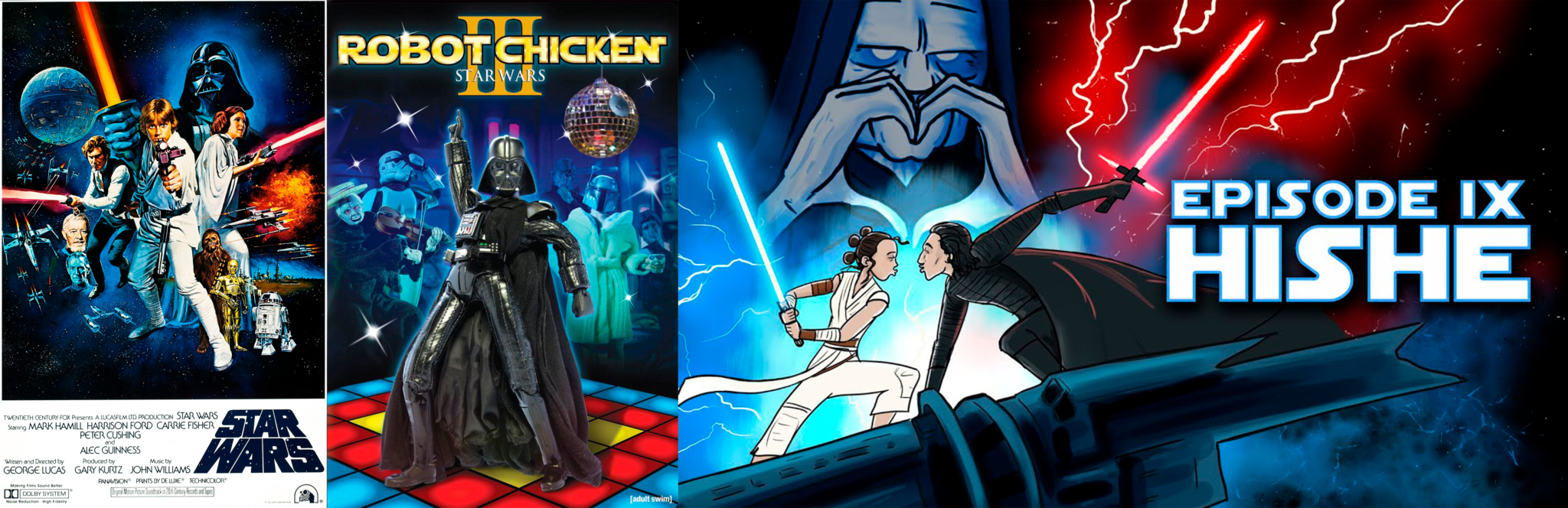 Star Wars parody: Robot Chicken and Hishe - thescriptblog.com