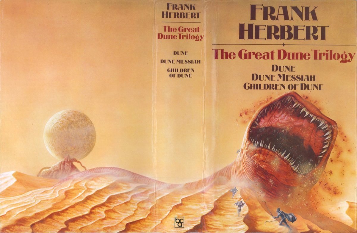 Dune 3 First Books Front Cover - The Scriptblog.com