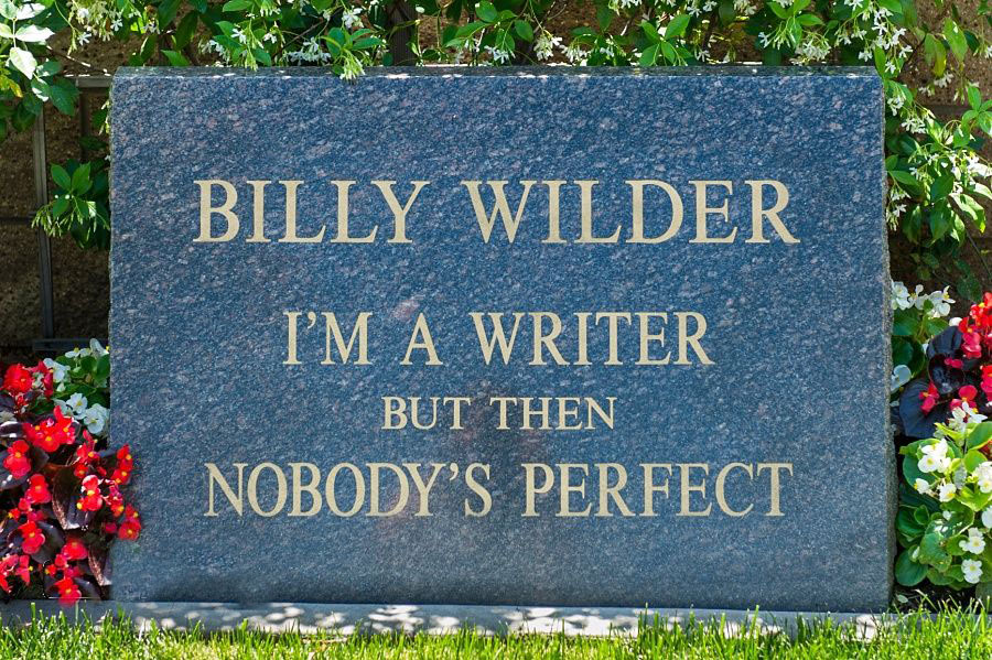 Billy Wilder's grave