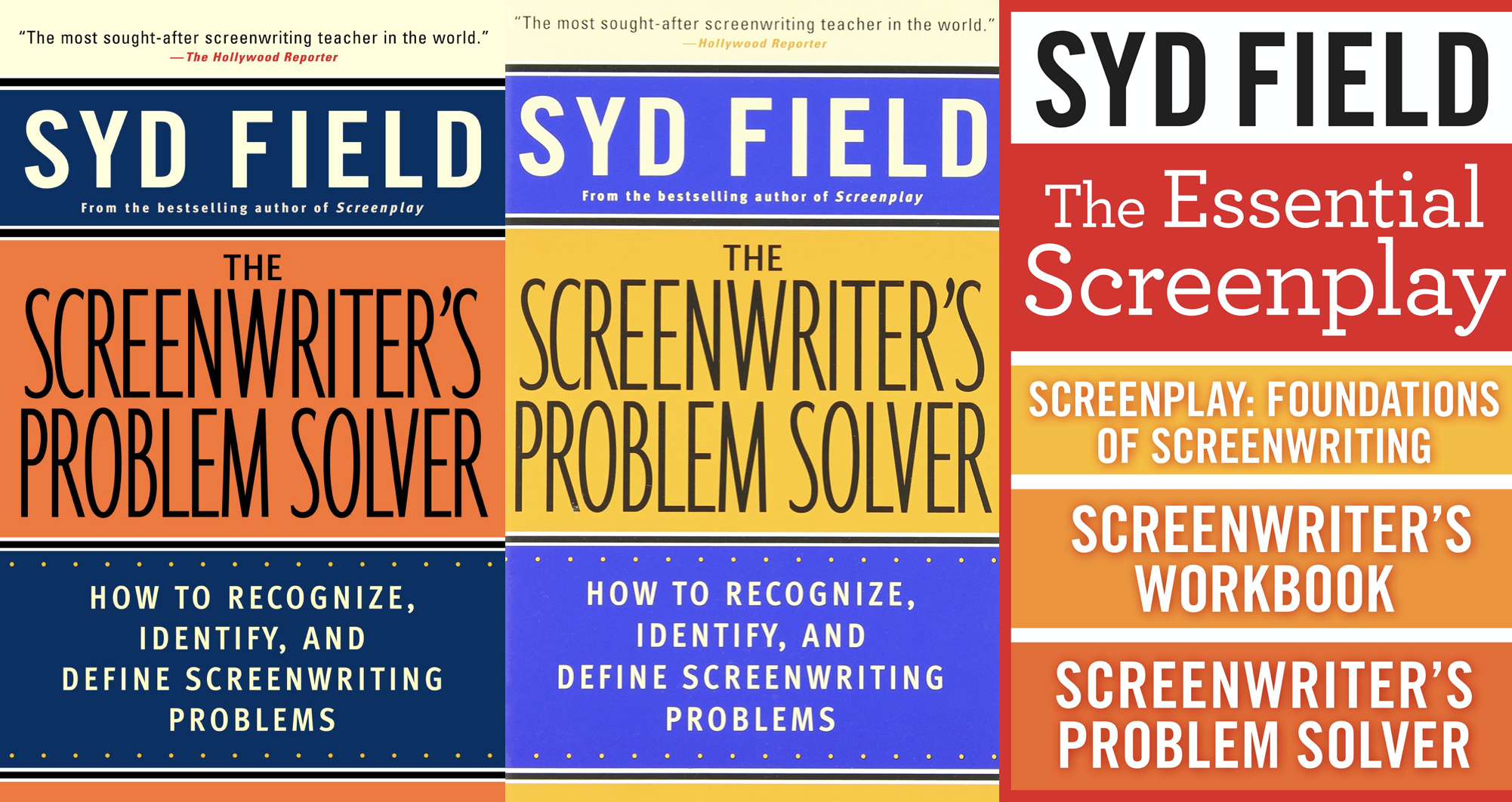 Syd Field's The Screenwriter's Problem Solver - thescriptblog.com