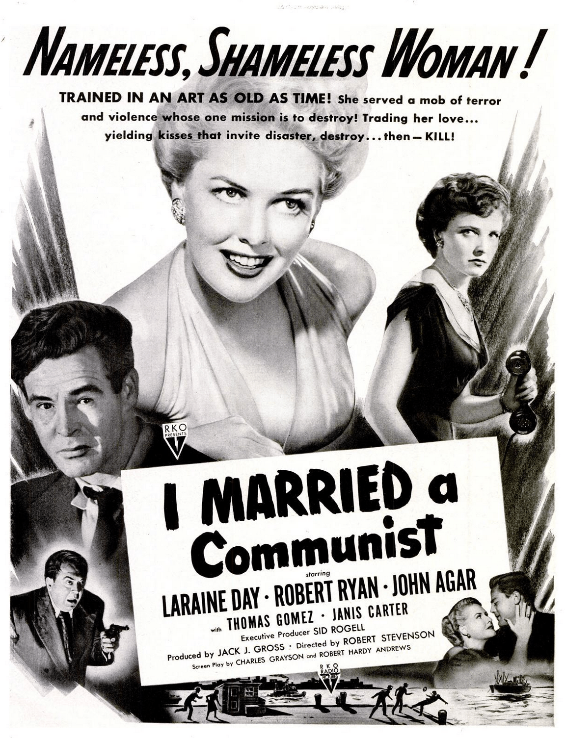 I Married a Communist - Witch Hunt in Hollywood - thecriptblog.com