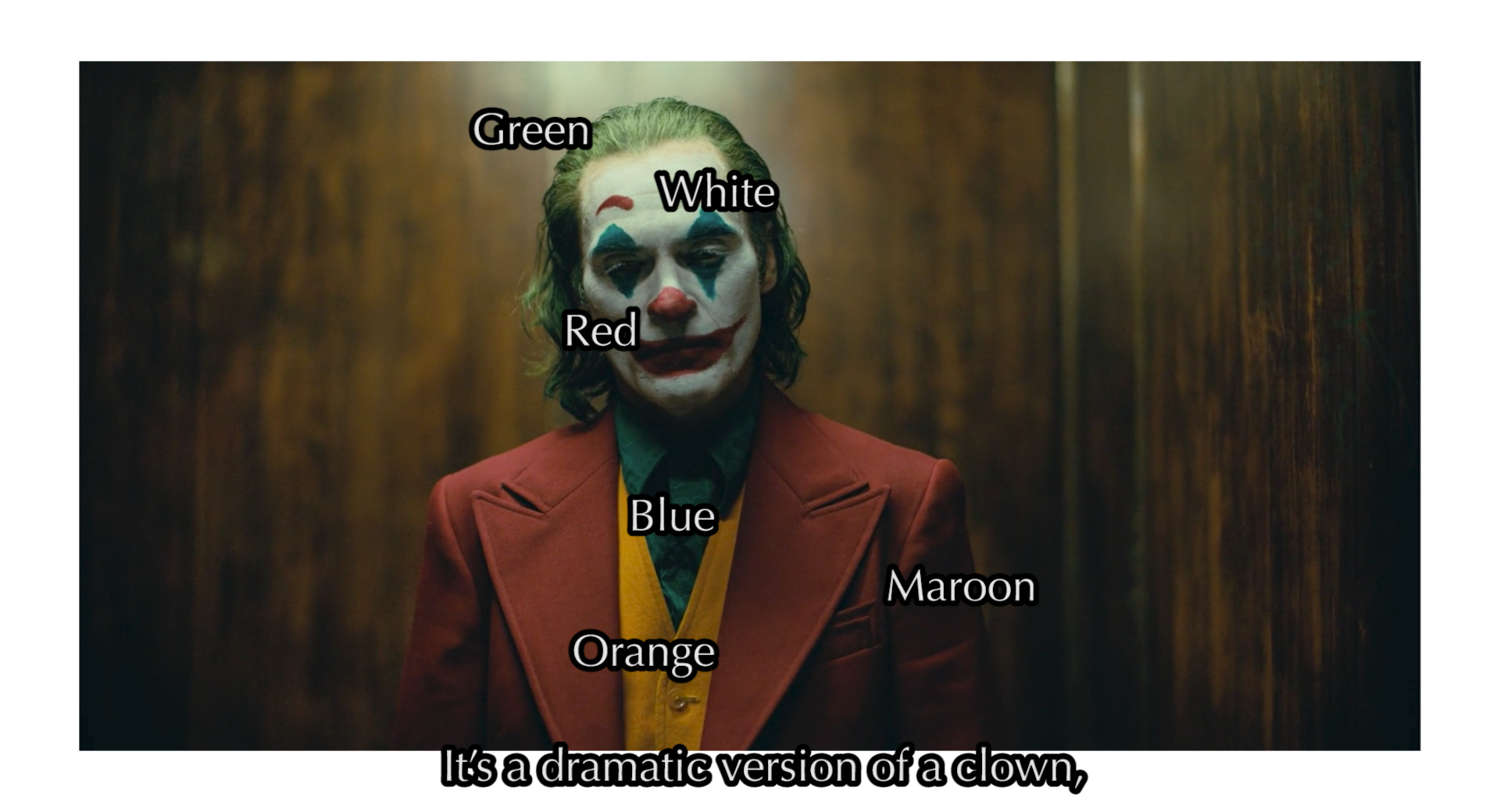 The Use of Color in Joker - thescriptblog.com